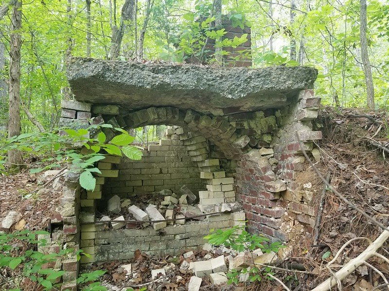 Structure at Pocahontas State Park