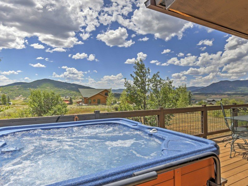 Private Steamboat Springs Home with Hot Tub and Mountain Views