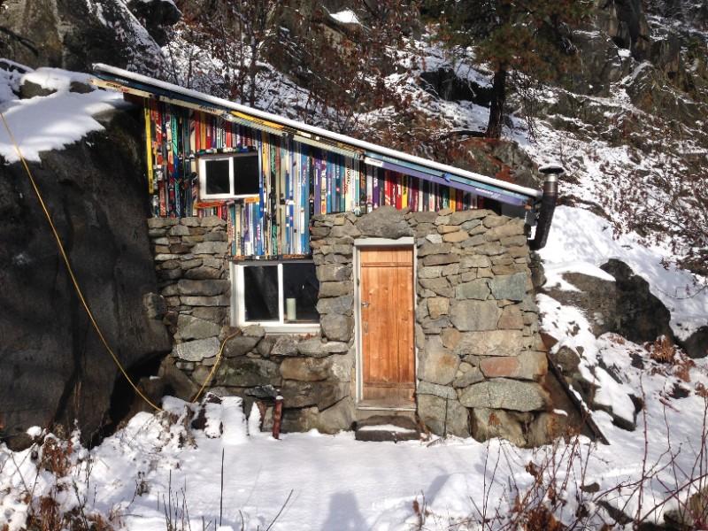 Rustic Stone Cabin