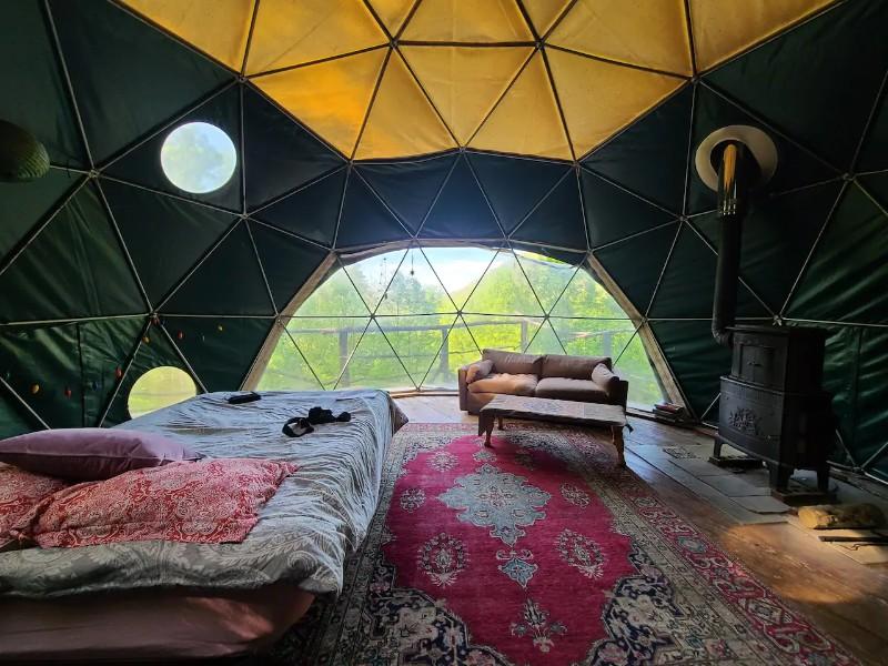 The Dome Home - Weaverville, North Carolina
