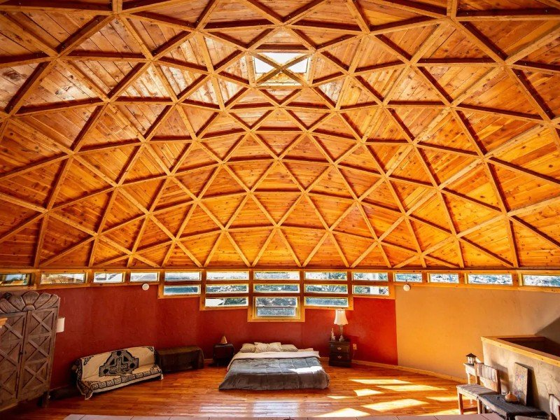 The Mothership Dome at Crestopolis - Crestone, Colorado