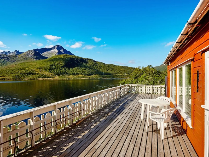 Trout House, Langvassdalen, Troms, Norway