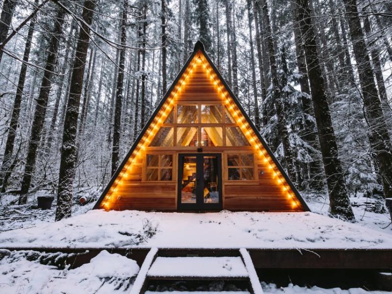 Tye Haus A-Frame Cabin, Skykomish, Washington