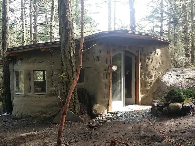 Whimsical Earthen Glamping Cabin