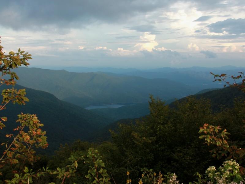 Blue Ridge Mountains in South Carolina