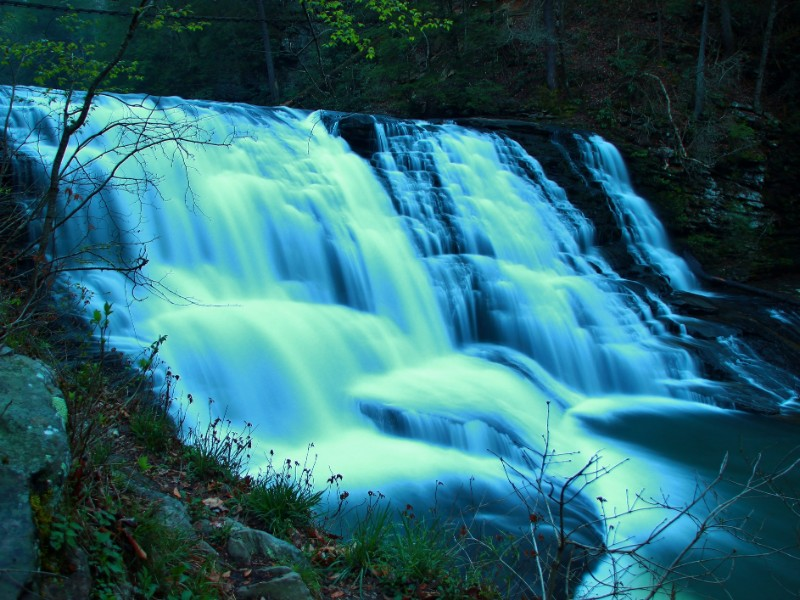 Cane Creek Falls in Fall Creek Falls State Park
