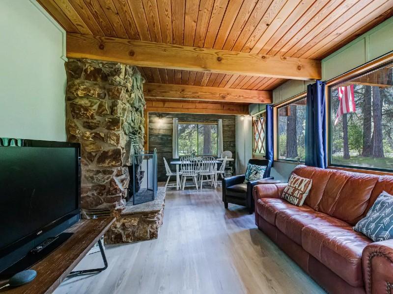Open & Relaxing South Fork Riverside Retreat