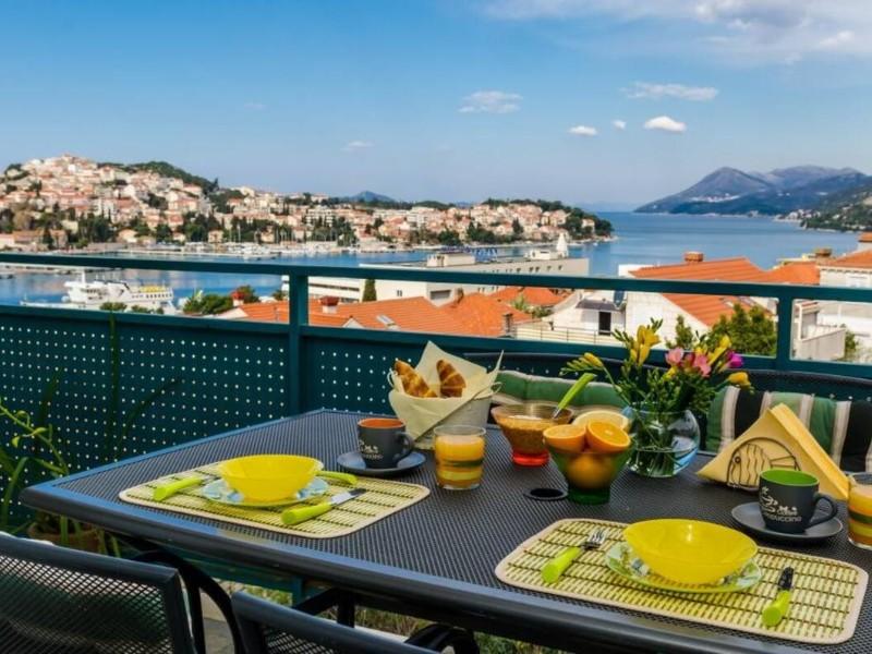 Balcony at Apartment Radovan, Dubrovnik