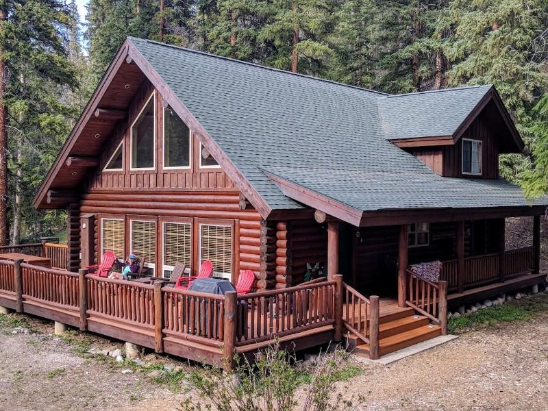 Custom Log Home, Breckenridge, Colorado