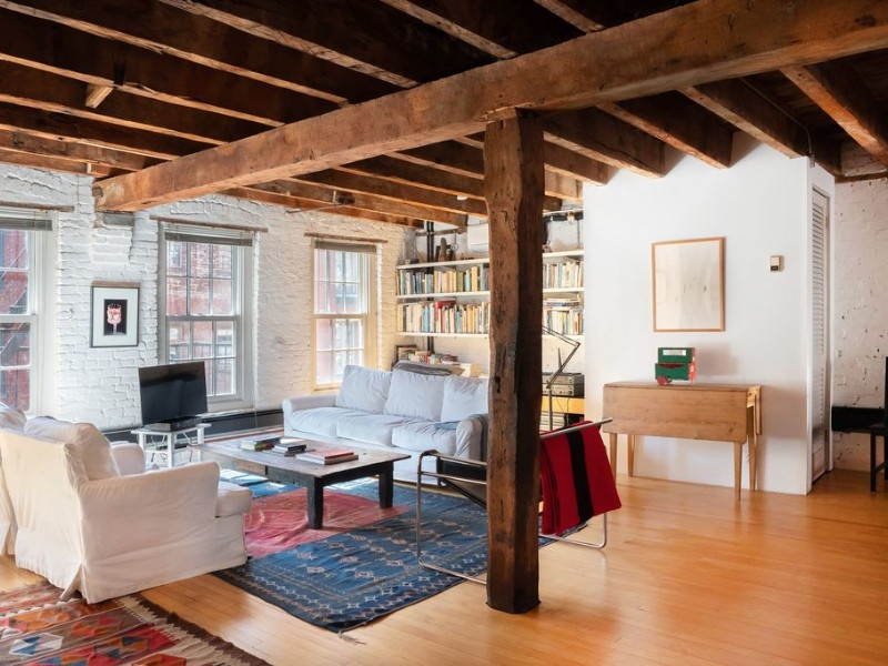 Lovely Duplex Loft on the Coolest Block in the South Street Seaport