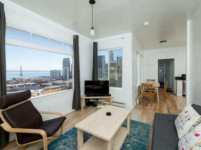 Modern 1 Bedroom North Beach Apartment, San Francisco