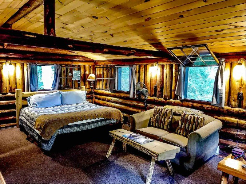 Rustic Log Cabin and