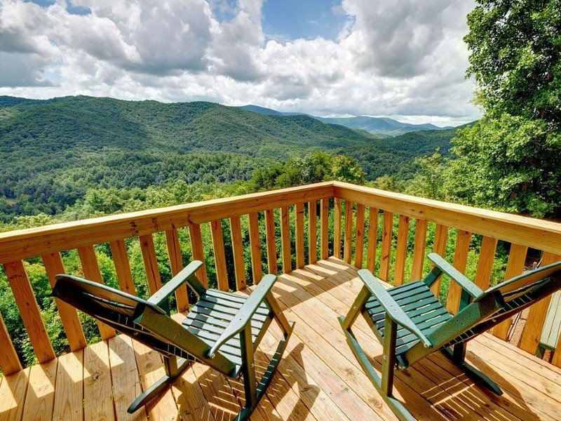 mountain views, best in Blue Ridge