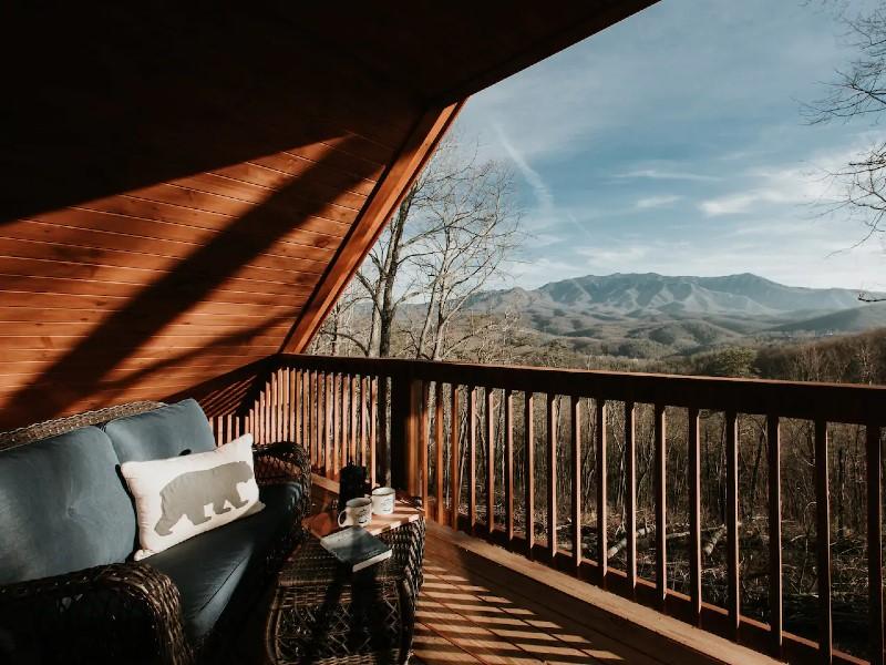 Modern, Mountain Views