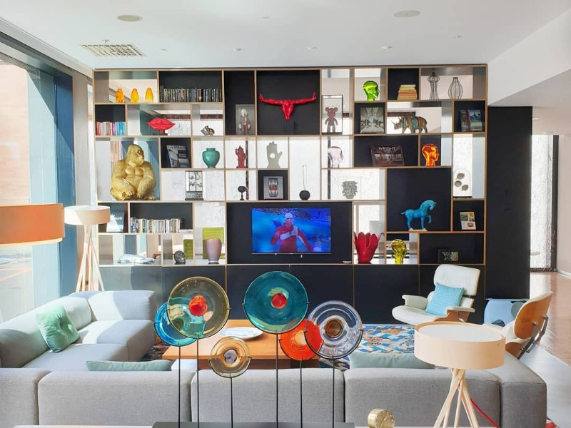 Decor at citizenM hotels