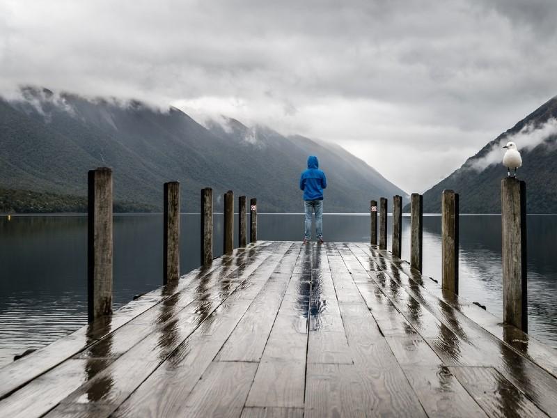 reflection at the lake