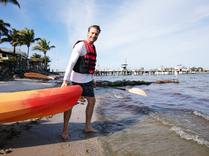 Kayak and watersports rentals from Capt. Hiram's Resort