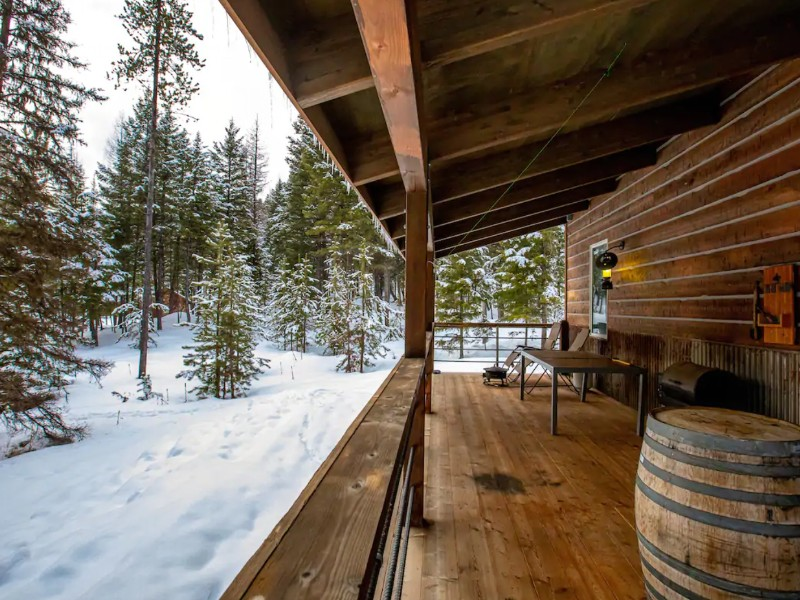 3 Arrows Luxury Cabin, Whitefish, Montana