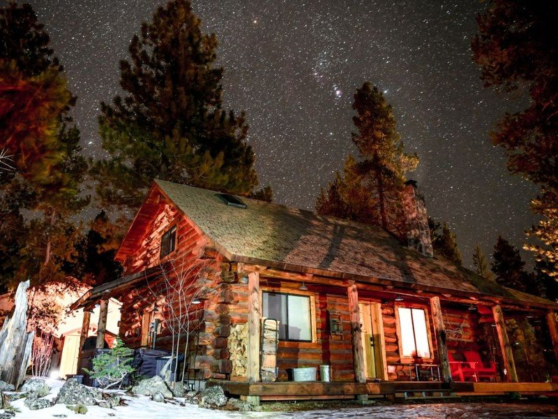 Pet Friendly, luxury log cabin