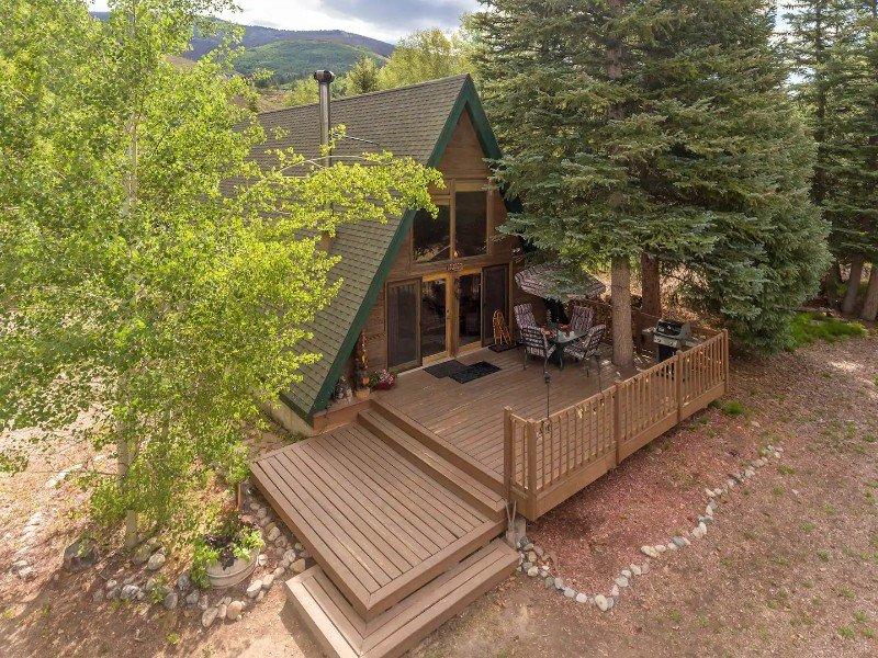 A-Frame Cabin on the Blue River