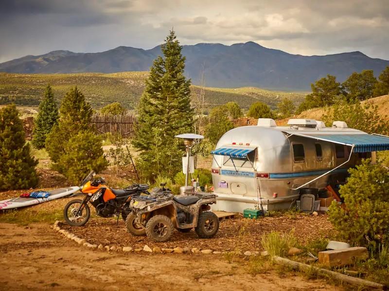Scene at Airstream Mountain Getaway