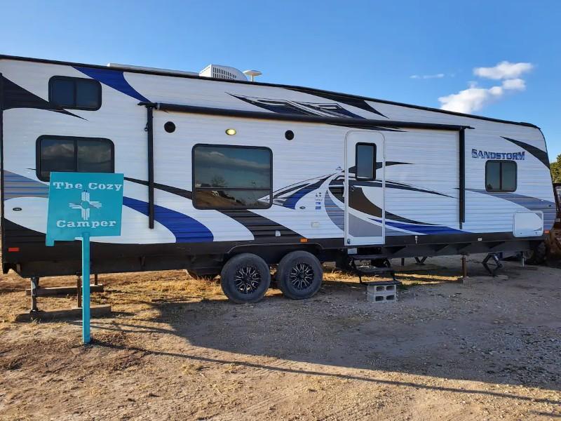 Side of Carlsbad Cozy Camper