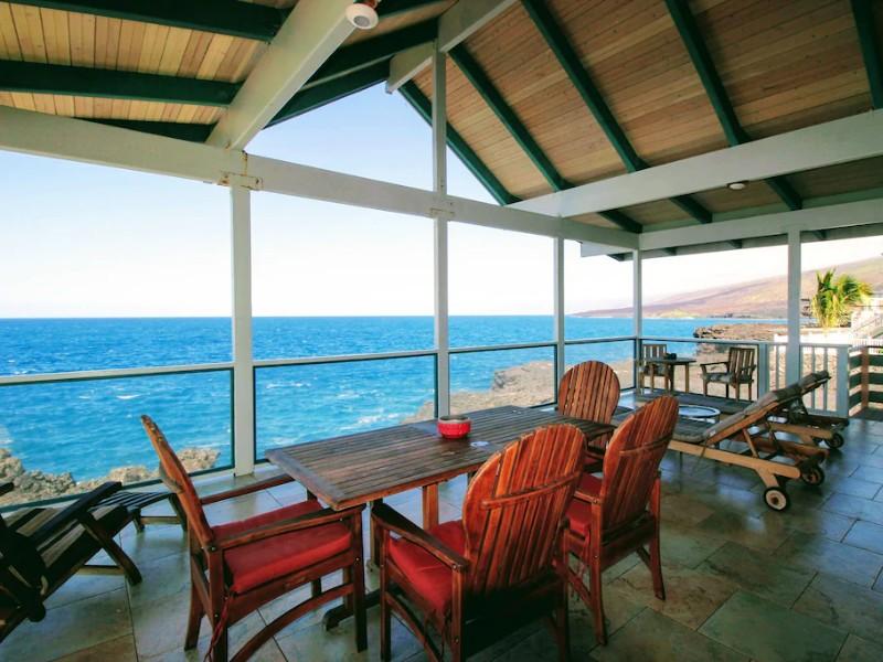Direct Oceanfront Custom Home