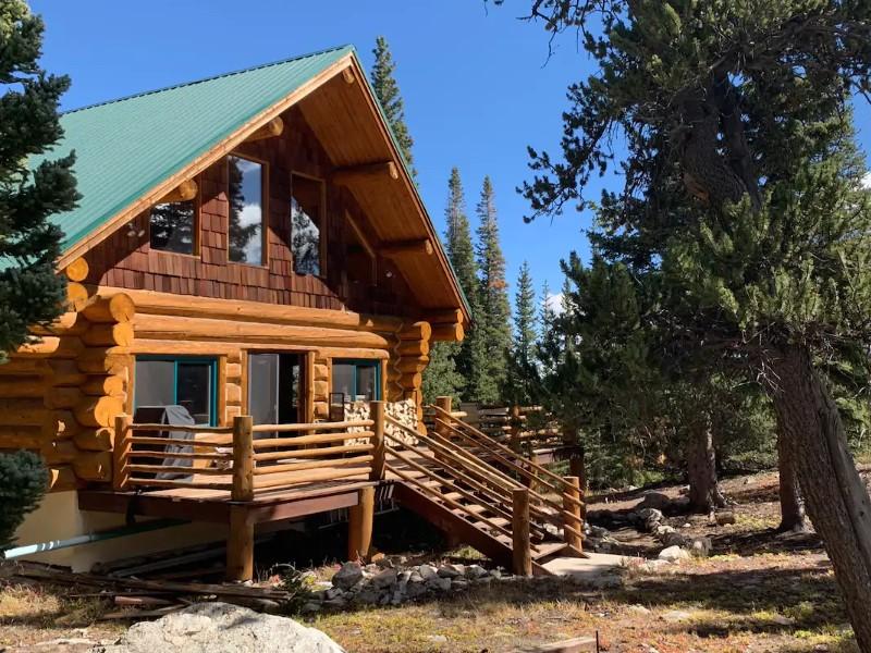 High Mountain Log Cabin