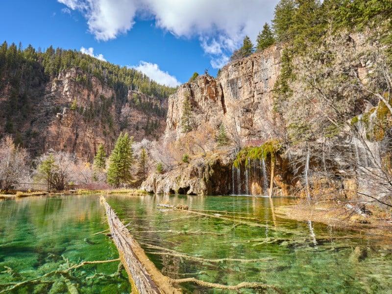 Hnaging Lake, Colorado