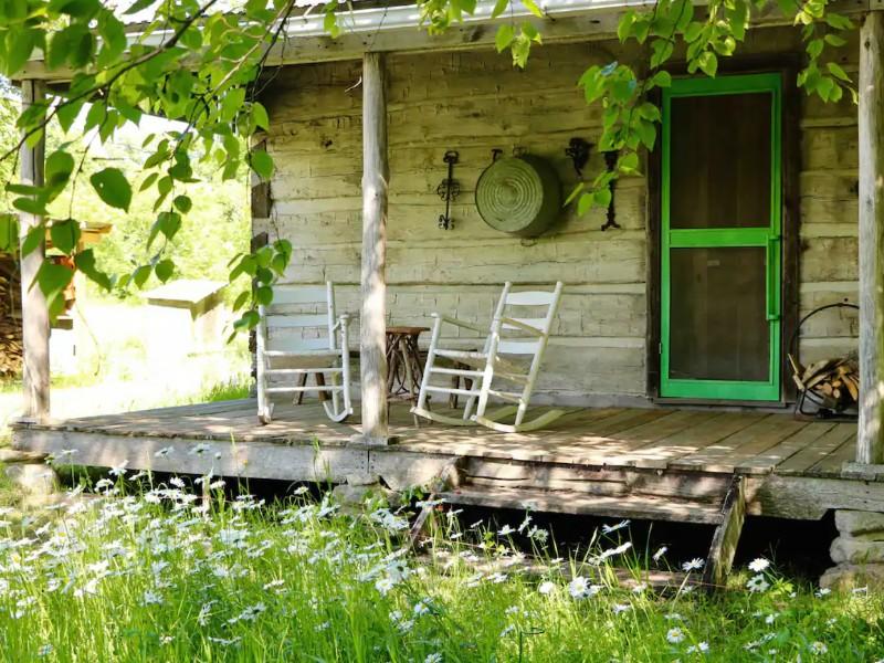 Maynard Cabin, a Civil War Era Cabin, Long Prairie, Minnesota