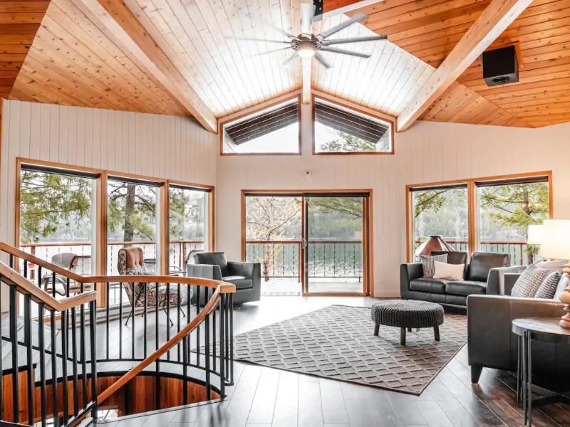 Modern Lake House, Whitefish, Montana