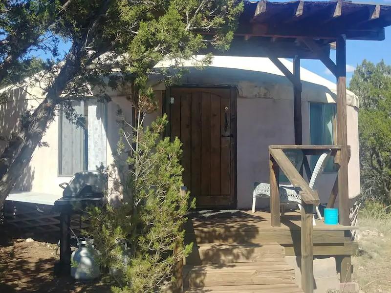 MoonFlower Casitas and Retreat Yurt