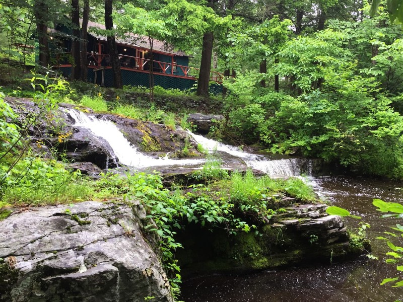 Remote Waterfall Cabin on 20 acres, Millrift, Pennsylvania