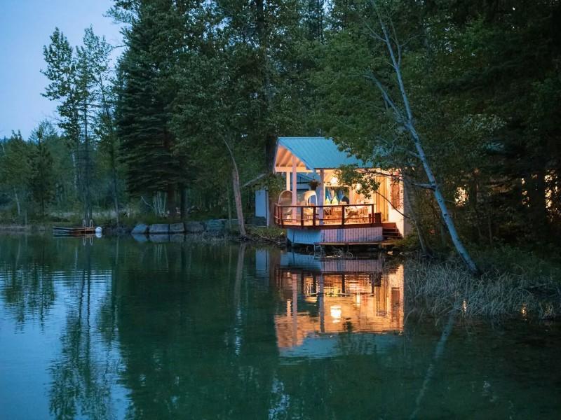 River Stone Cabin
