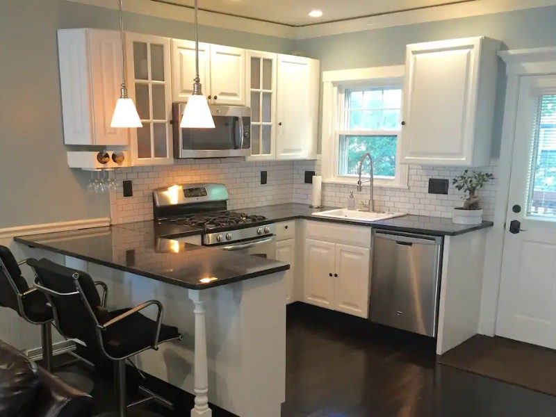 Kitchen in Sanitized Modern 3BD private home