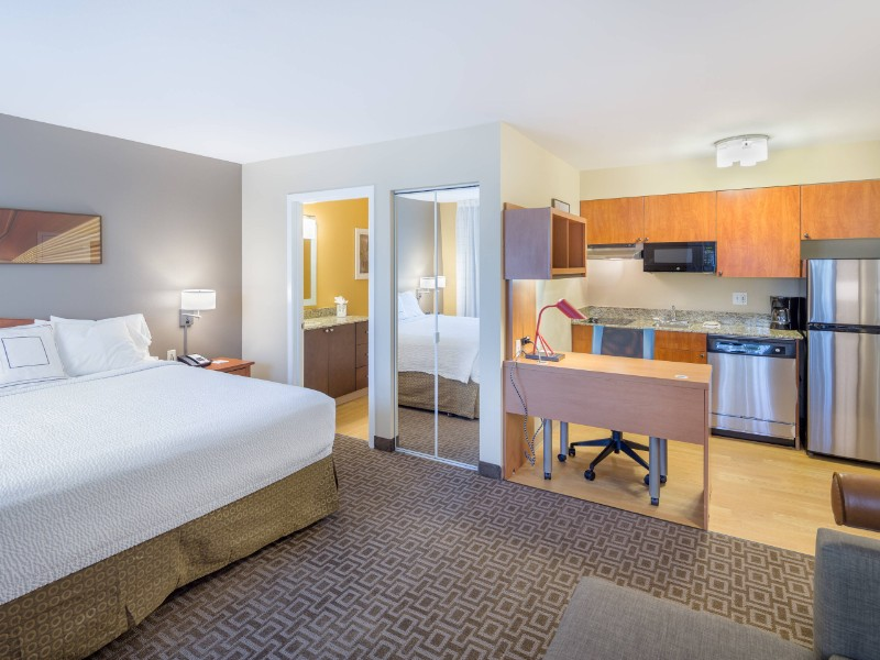 Studio King Suite at TownePlace Suites by Marriott Portland Hillsboro