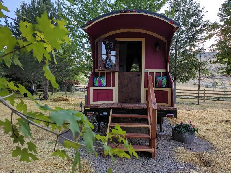 Gypsy Wagon/Tiny House on the River