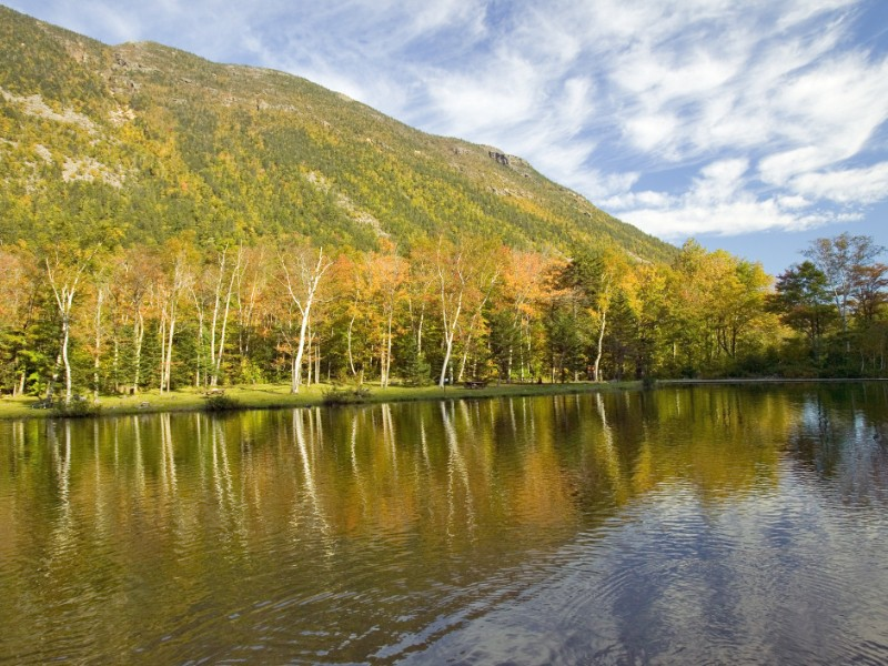 Crawford Notch State Park in the White Mountains