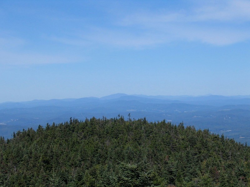 View North from the tower on Mt. Ascutney