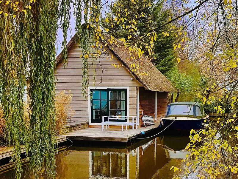 Luxury Boathouse + sauna near Leiden & Amsterdam