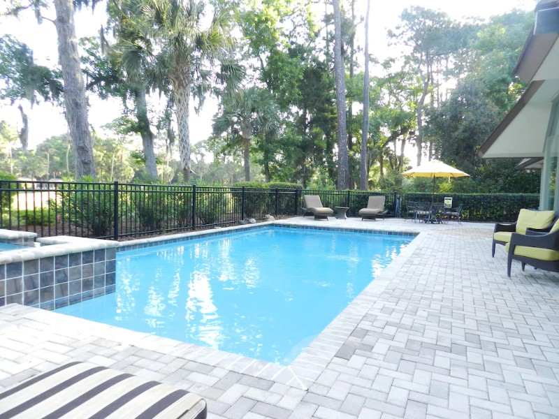 Pool at 6 N Live Oak Bright Open Home