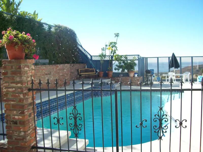 Pool at Beautiful Ocean View Home, Laguna Beach
