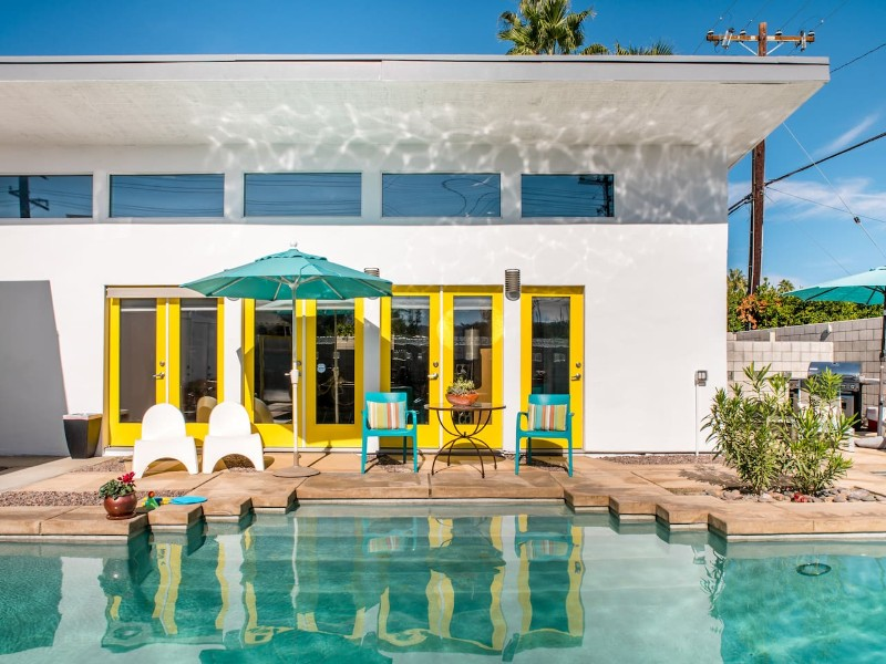 Colorful Oasis with a Dreamy Desert Vibe