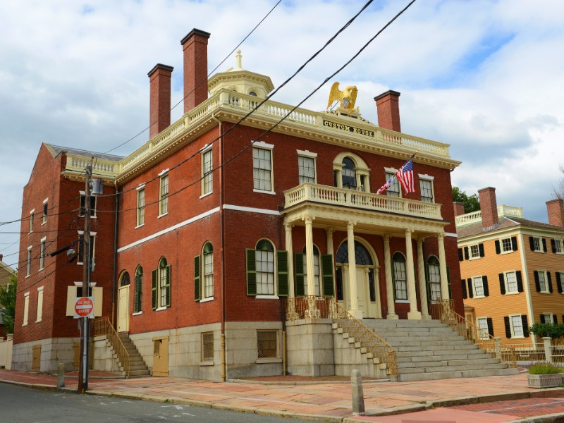 Custom House at the Salem Maritime National Historic Site