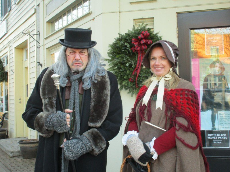 Dickens Christmas in Skaneateles, New York.