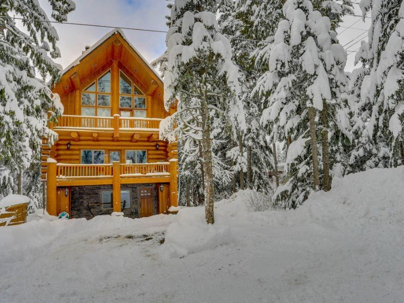 Dog-friendly lodge with two large decks, Government Camp, Oregon