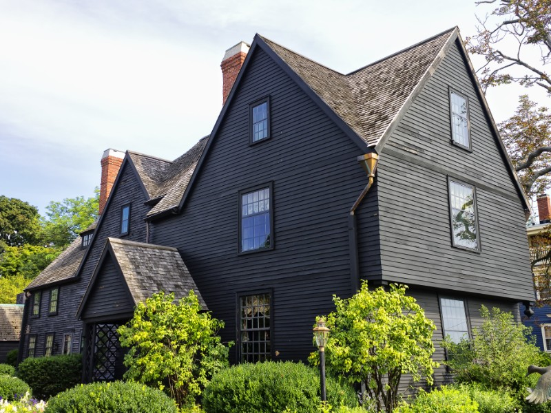 The House of Seven Gables museum in Salem