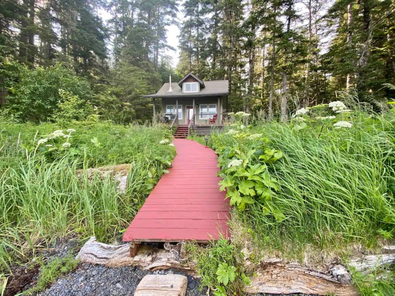 Kasiana Island Cabin, Sitka, Alaska