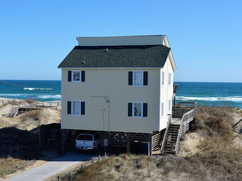 Oceanfront Beach Cottage