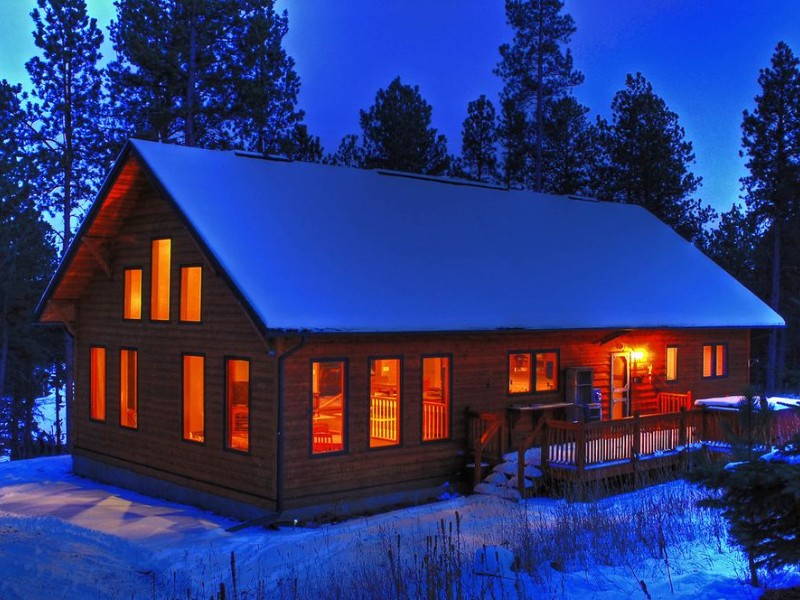 Secluded Pines Cabin in the Black Hills, Nemo, South Dakota